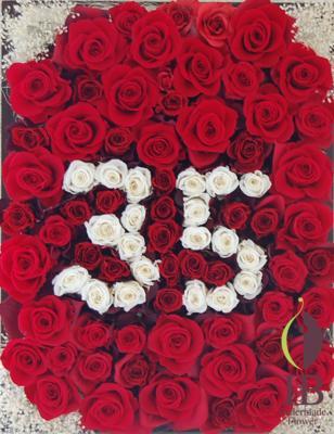 ウッドフレームの花 記念日