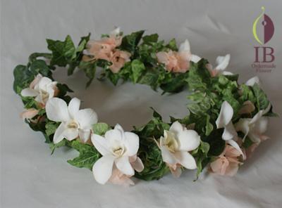 プリザードフラワー 花冠