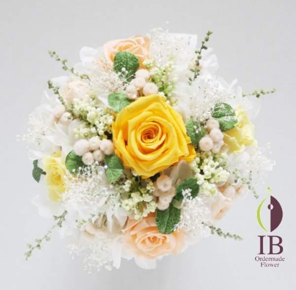 プリザードフラワー オーダーメイド お悔やみのお花