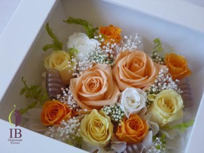 お花のアップ(ガラスなし)