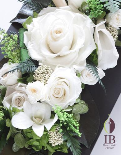 オーダーメイド パールホワイトのバラ