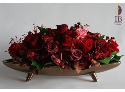 プリザードフラワー 還暦御祝御花