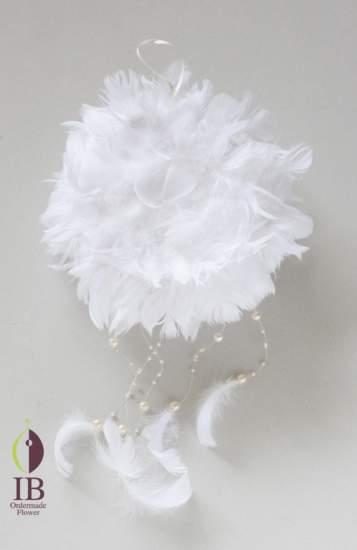 プリザードフラワー 鳥の羽