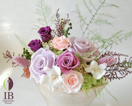 お花のアップ オーダーメイドフラワー