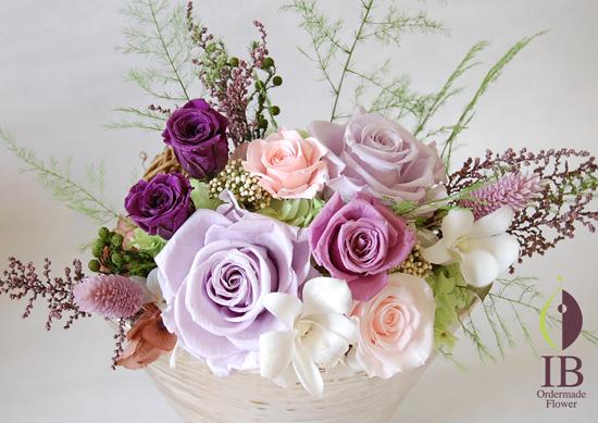 別の角度から お花のアップ