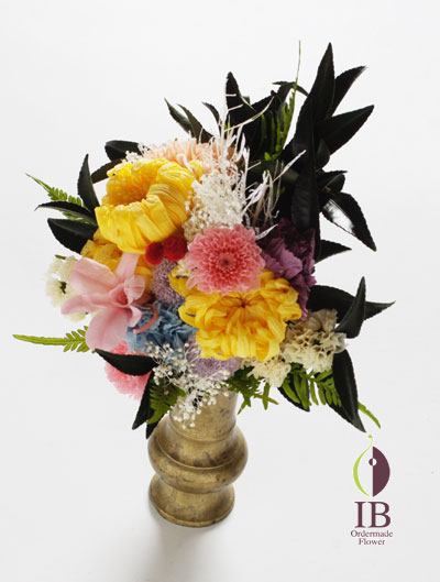 プリザードフラワー 仏壇の花