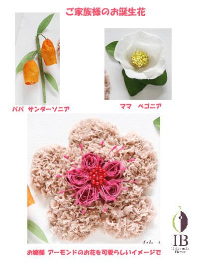 プリザードフラワー 誕生花