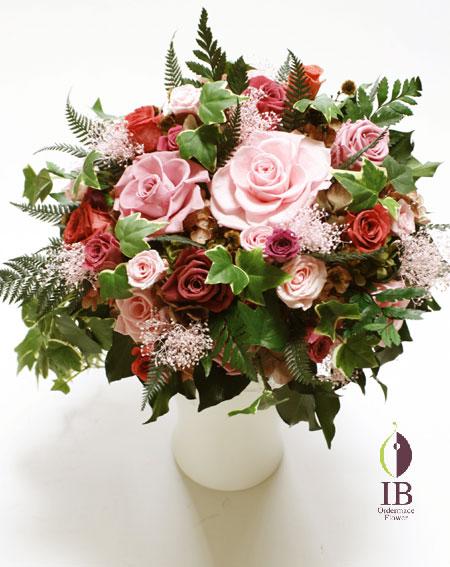 プリザードフラワー 玄関・受付装飾花