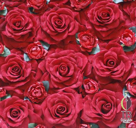 造花 バラ 赤