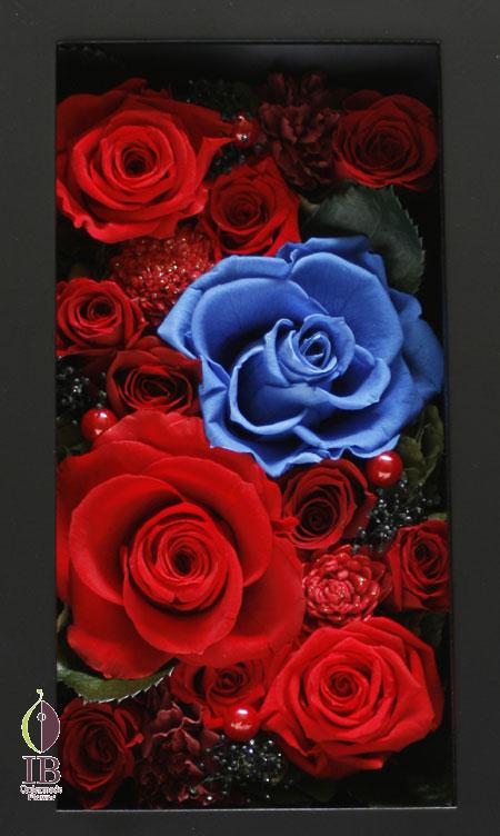 プリザードフラワー プロポーズ用 12輪のバラ