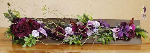 プリザーブフラワー 母の日 和風 フレーム装飾