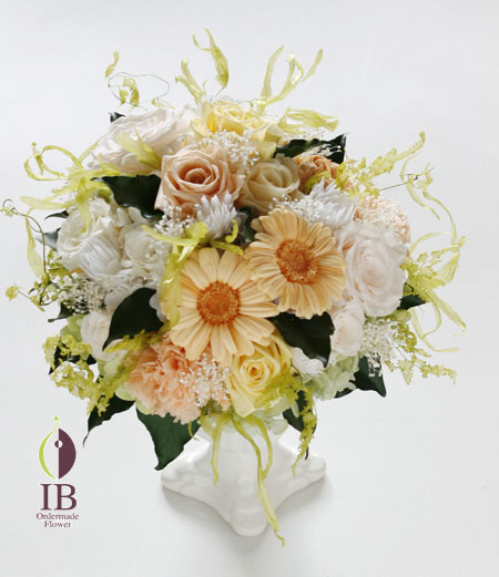 プリザーブドフラワー エレガントなお花の装飾