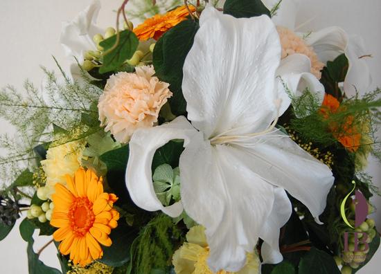 お花のアップ