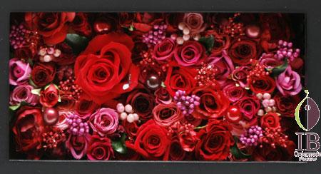 フレーム 還暦 60輪のバラ