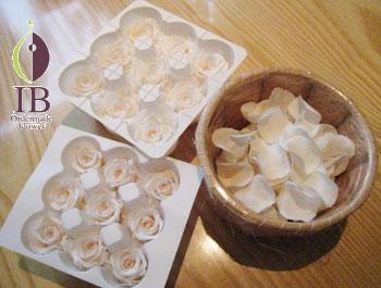 プリザーブド バラの花びら
