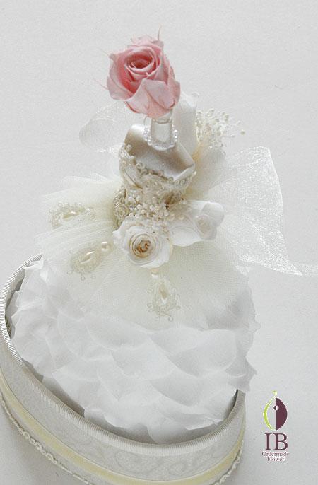 プリザーブドバラ ピュアホワイト