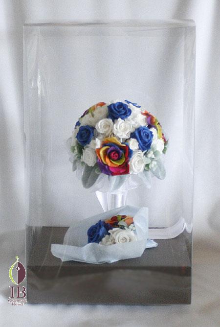 プリザーブドフラワ- ブーケ装飾