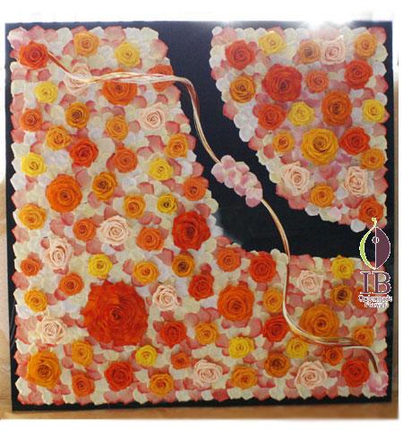 プリザーブドフラワ- 理事長室のお花