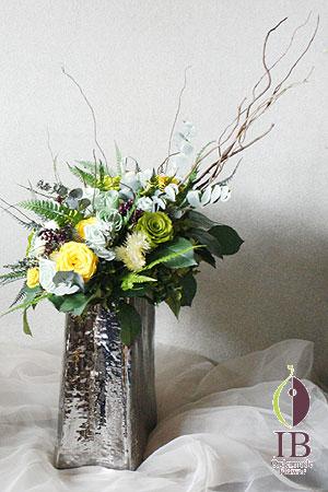 プリザーブドフラワー グリーン装飾花