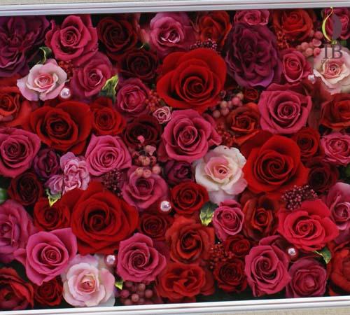 御両親贈呈花フレーム