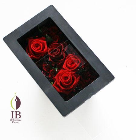 プリザーブドフラワー ルビー婚記念日に贈るお花