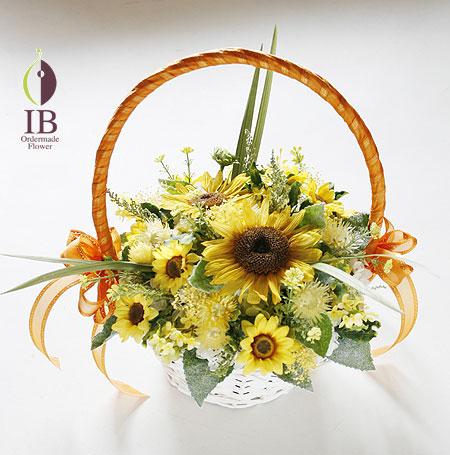 プリザーブドフラワー ヒマワリ 母の日に贈るお花