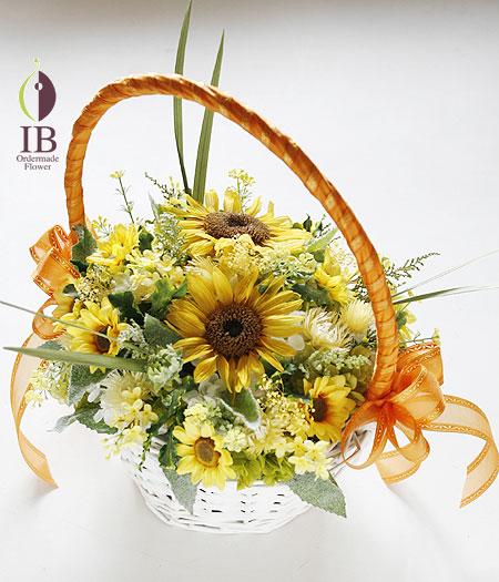 プリザーブドフラワー 向日葵 母の日に贈るお花