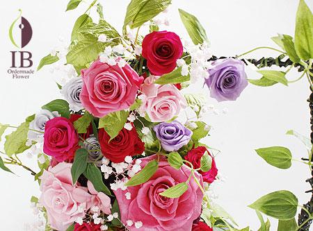 プリザ お花のアップ
