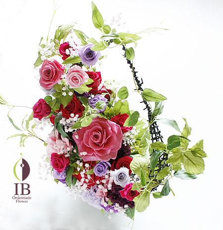 プリザードフラワー 和風 母の日に贈るお花