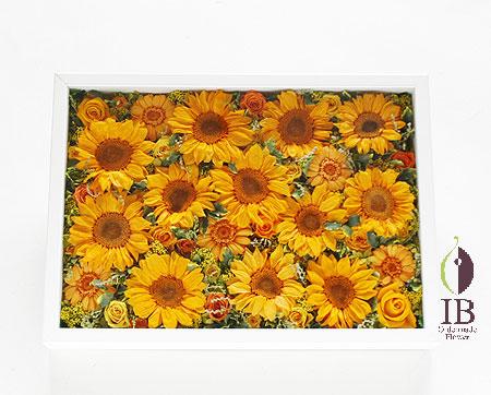 プリザーブドフラワー ひまわり 夏の花