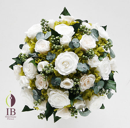 プリザーブドフラワ- リビングのお花