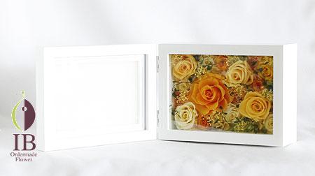 プリザーブド プロポーズのお花 フォトフレーム