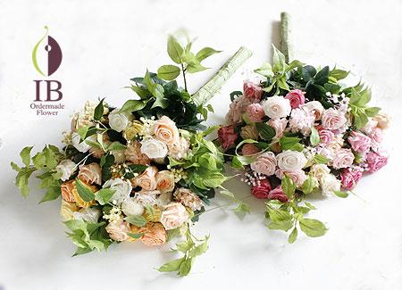 プリザ 花束イエロー