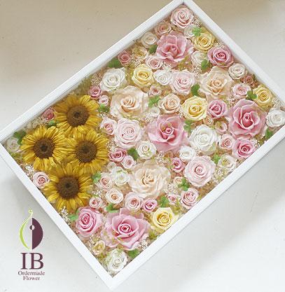 プリザーブドフラワー ペット供養のお花