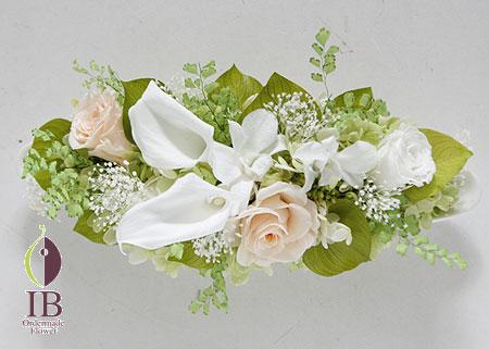 プリザーブドフラワ- カラーのお花