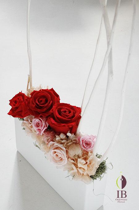 プリザーブドフラワー お店に飾るお花
