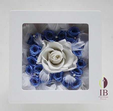 プリザーブドフラワ- お悔やみのお花