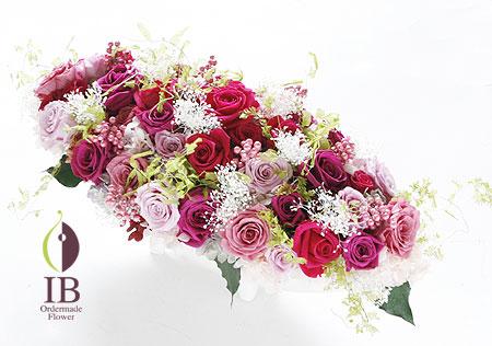 オーダーメイド 金婚式お祝い プリザ