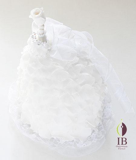 プリザーブ バラ ホワイトシャンパン