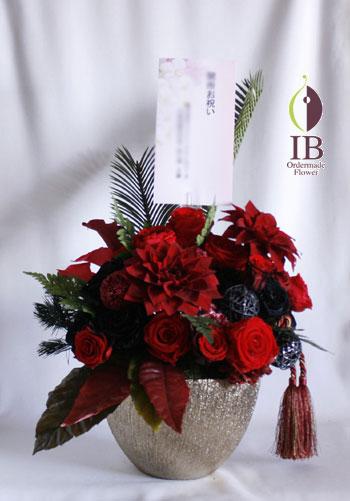 オーダーメイド プリザ 会社 受付に飾るお花