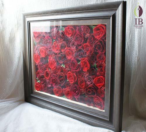 赤バラ60輪プリザーブド