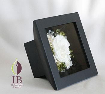 プリザーブド ウッドボックス装飾 オーダーメイド
