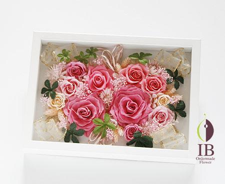 プリザーブドフラワー バラ プリンセスピンク