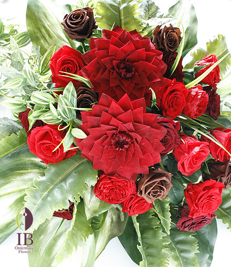 プリザ 店頭用装飾花
