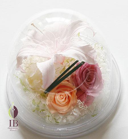 プリザード ユリのお花 誕生日