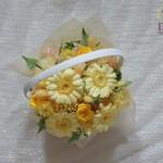 誕生日プレゼントのお花プリザーブド