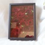 赤いバラお花プリザーブド