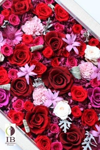 会社ロビーに飾る花